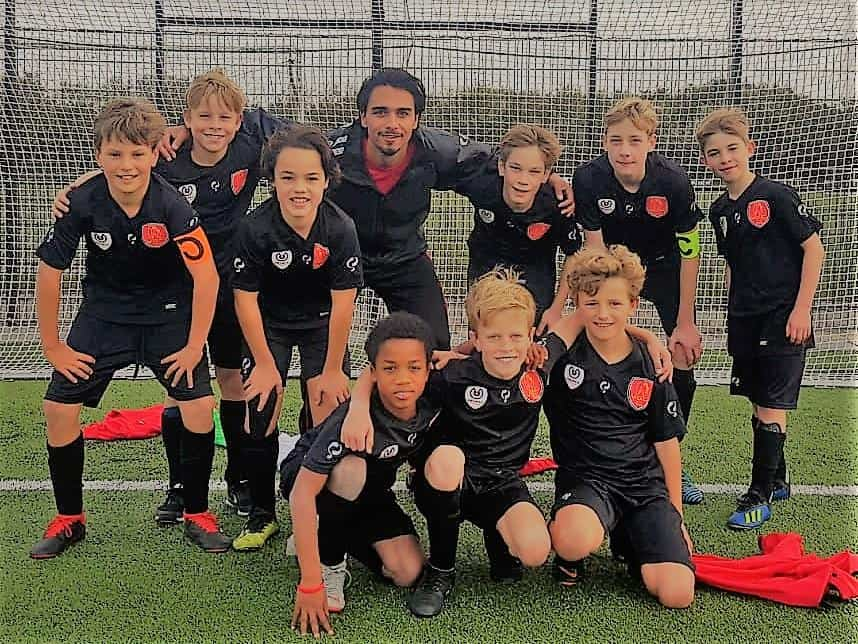 V.O.C. Voetbalkamp in Rotterdam in de zomervakantie van 2021