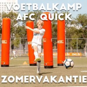 AFC Quick 1890 Voetbalkamp in Amersfoort in de zomervakantie 2021