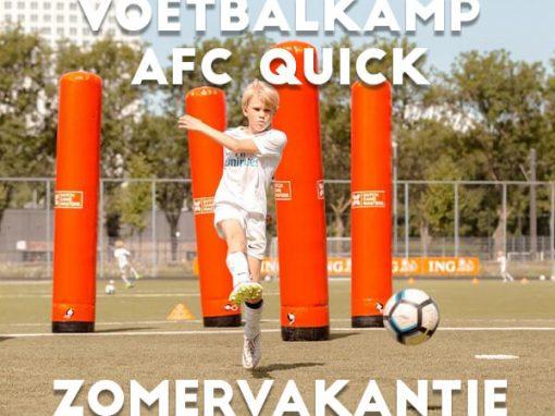 AFC Quick 1890 Voetbalkamp in de zomervakantie