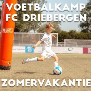 FC Driebergen Voetbalkamp in Driebergen in de zomervakantie 2021