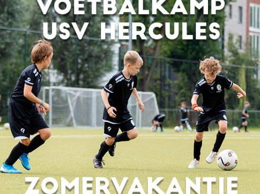USV Hercules Voetbalkamp in de zomervakantie