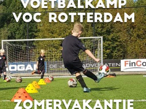V.O.C. Voetbalkamp in de zomervakantie