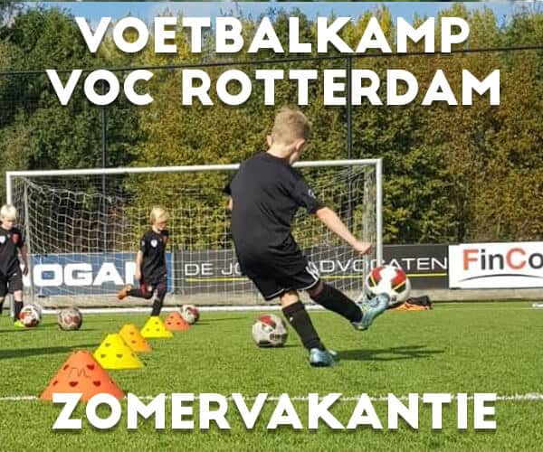 V.O.C. Voetbalkamp in Rotterdam in de zomervakantie 2021