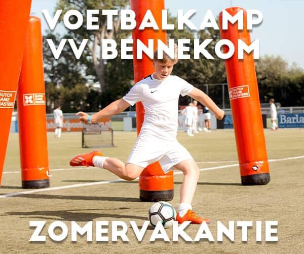 VV Bennekom Voetbalkamp in de zomervakantie