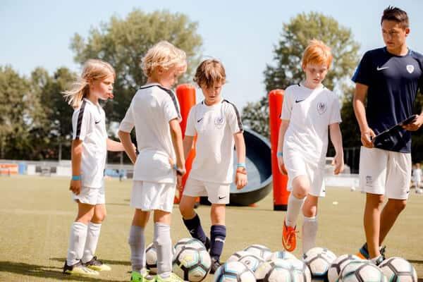 FC Driebergen Voetbalkamp in Driebergen in de zomervakantie van 2021