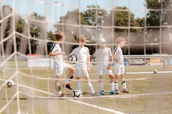 SML Voetbalkamp in Arnhem in de zomervakantie van 2021