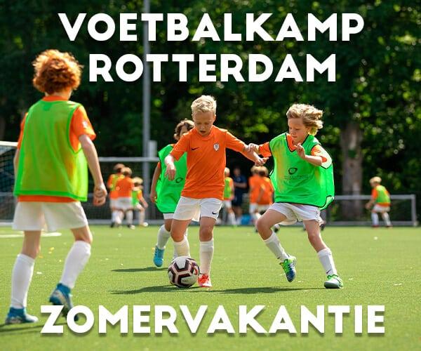 Ubuntu FC Jungle Voetbalkamp in Rotterdam in de zomervakantie 2022 (3 dagen)