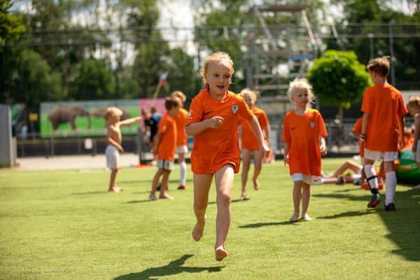 Ubuntu Voetbalkamp in Utrecht Leidsche Rijn in de zomervakantie van 2021 5 dagen