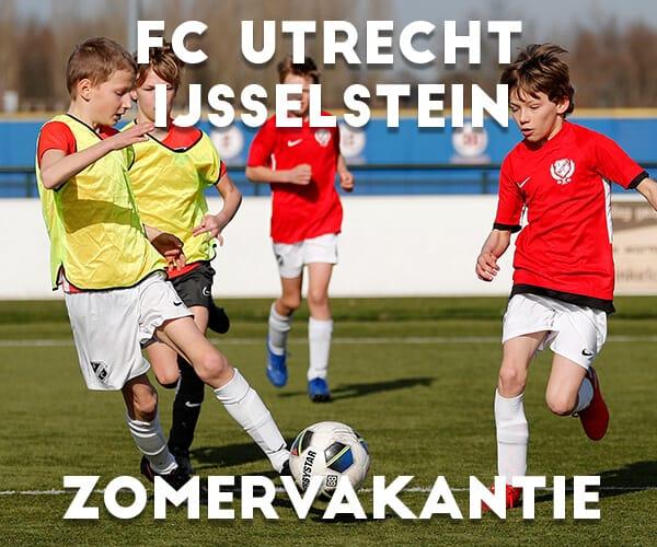 FC Utrecht Voetbalkamp in IJsselstein in de zomervakantie 2021