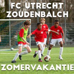 FC Utrecht Voetbalkamp in Utrecht in de zomervakantie van 19 tm 21 juli 2021