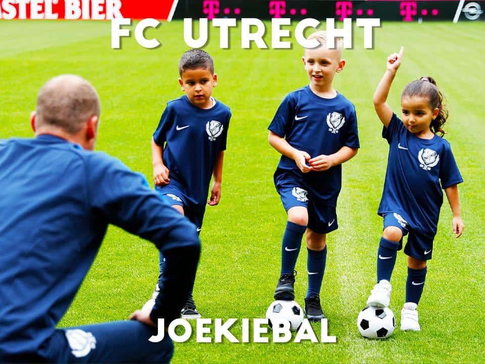 FC Utrecht Joekiebal in het voorjaar 2021