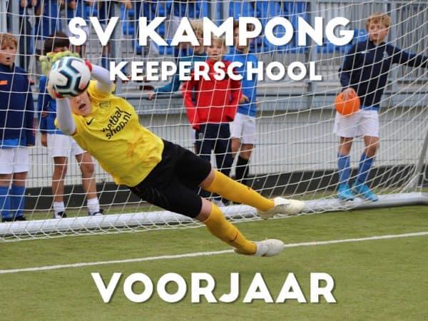SV Kampong Keepersschool in het Voorjaar 2021