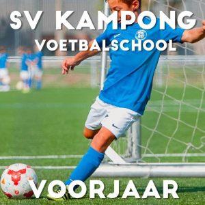 SV Kampong Voetbalschool in het Voorjaar 2021