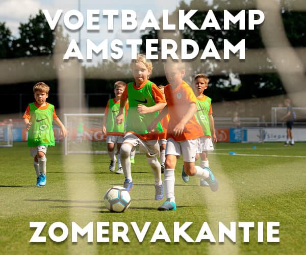 Ubuntu FC Jungle Voetbalkamp in Amsterdam in de zomervakantie 2022 (3 dagen)
