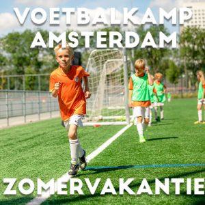 Ubuntu Voetbalkamp in Amsterdam in de zomervakantie 2021 5 dagen