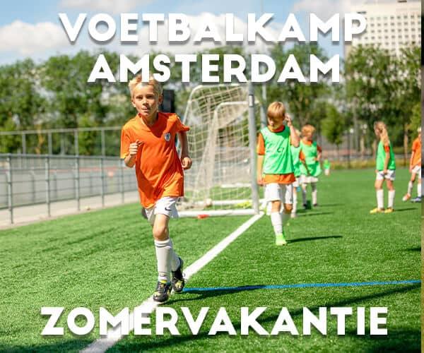 Ubuntu Voetbalkamp in Amsterdam in de zomervakantie 2022 (5 dagen)