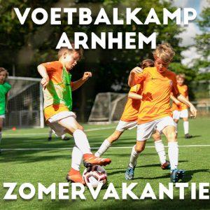 Ubuntu Voetbalkamp in Arnhem in de zomervakantie 2021 3 dagen