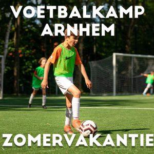 Ubuntu Voetbalkamp in Arnhem in de zomervakantie 2021 5 dagen