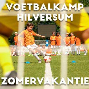 Ubuntu Voetbalkamp in Hilversum in de zomervakantie 2022 3 dagen