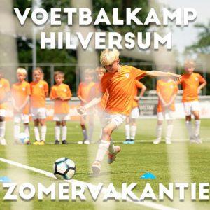Ubuntu Voetbalkamp in Hilversum in de zomervakantie 2022 5 dagen