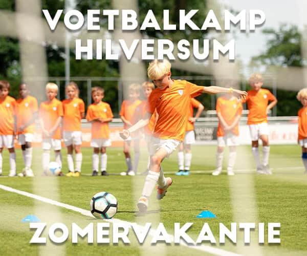 Ubuntu Voetbalkamp in Hilversum in de zomervakantie 2022 (5 dagen)
