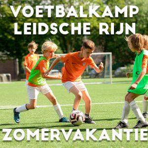 Ubuntu Voetbalkamp in Utrecht Leidsche Rijn in de zomervakantie 2021 3 dagen