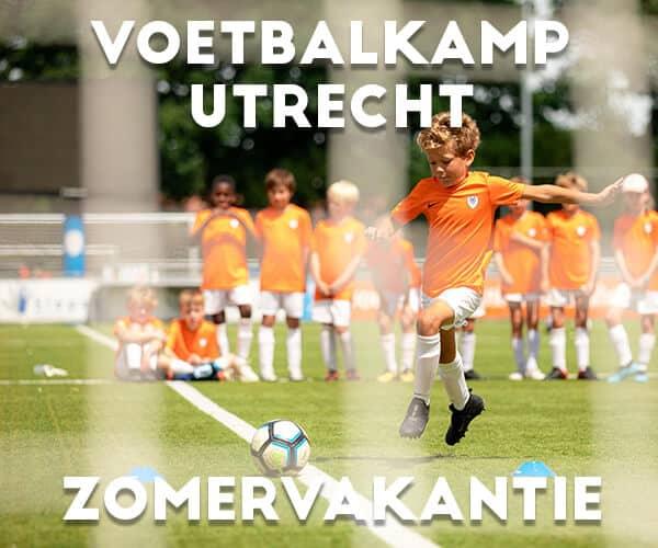 Ubuntu Voetbalkamp in Utrecht in de zomervakantie 2022 (5 dagen)