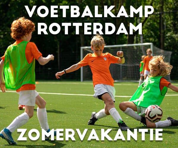 Ubuntu Voetbalkamp in Rotterdam in de zomervakantie 2022 5 dagen