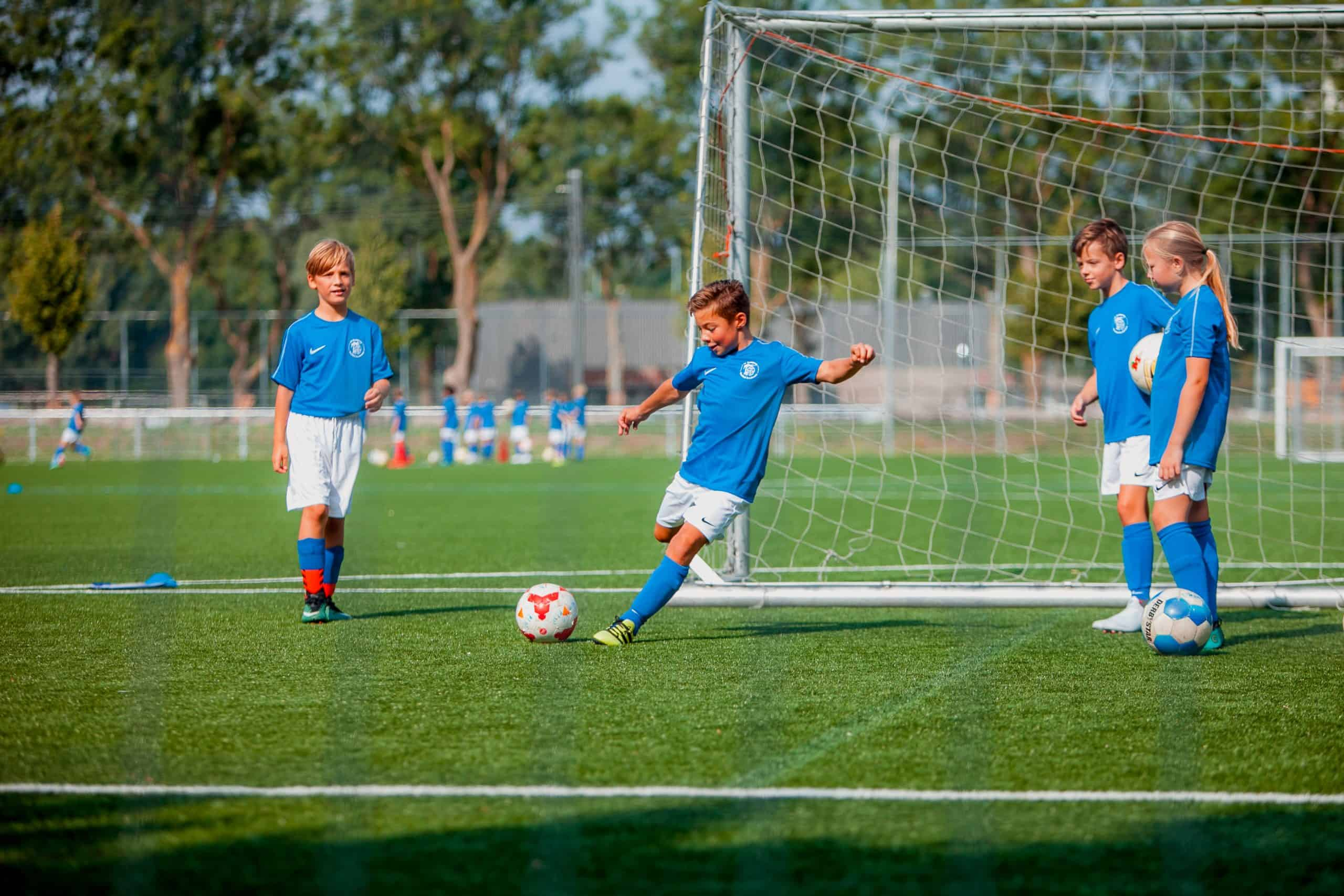 SV Kampong Voetbalkamp in de zomervakantie van 2021