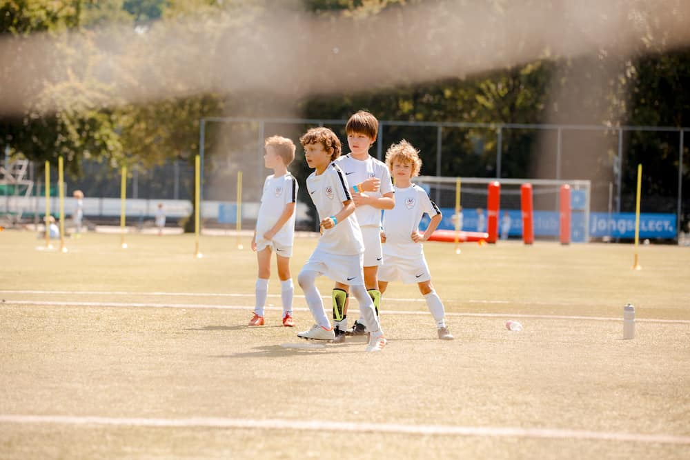 AFC Quick 1890 Voetbalkamp in Amersfoort in de herfstvakantie van 2021
