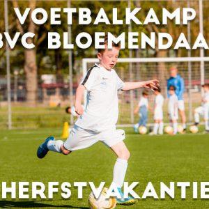 BVC Bloemendaal Voetbalkamp in de herfstvakantie 2021