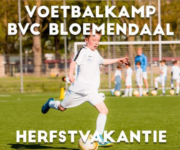 BVC Bloemendaal Voetbalkamp in de herfstvakantie