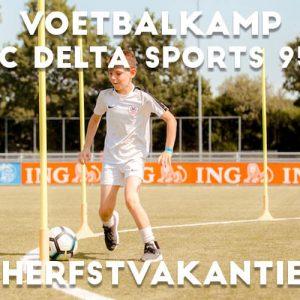 FC Delta Sports '95 Voetbalkamp in de herfstvakantie 2021