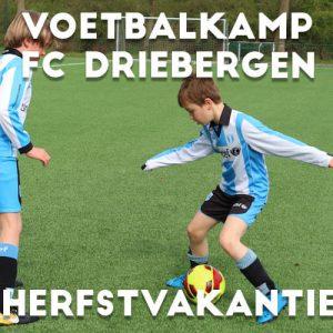 FC Driebergen Voetbalkamp in de herfstvakantie 2021