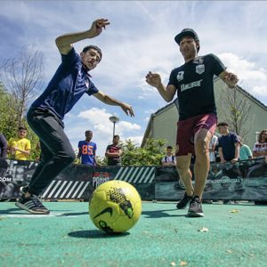 Panna Knock Out Camp in Rotterdam in de zomervakantie