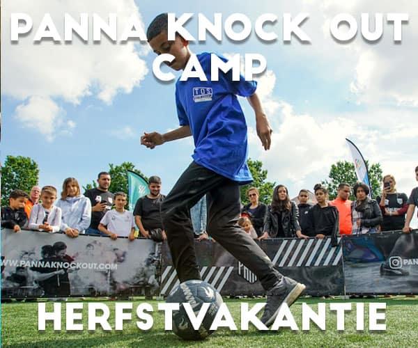 Panna Knock Out Camp in Rotterdam in de herfstvakantie (2 dagen)<br>8 t/m 12 jaar