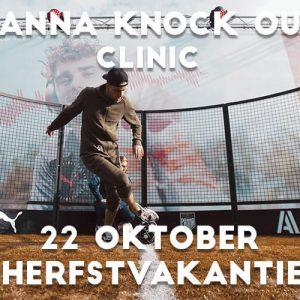 Panna Knock Out Clinic in Rotterdam in de herfstvakantie 2021 met Nasser el Jackson