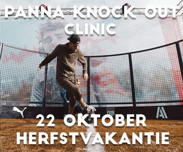 Panna Knock Out Clinic in Rotterdam in de herfstvakantie 22 oktober 2021<br>13 t/m 17 jaar