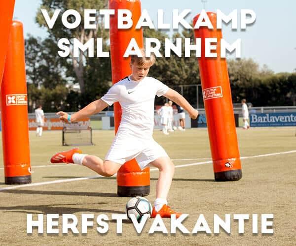 SML Voetbalkamp in Arnhem in de herfstvakantie 2021