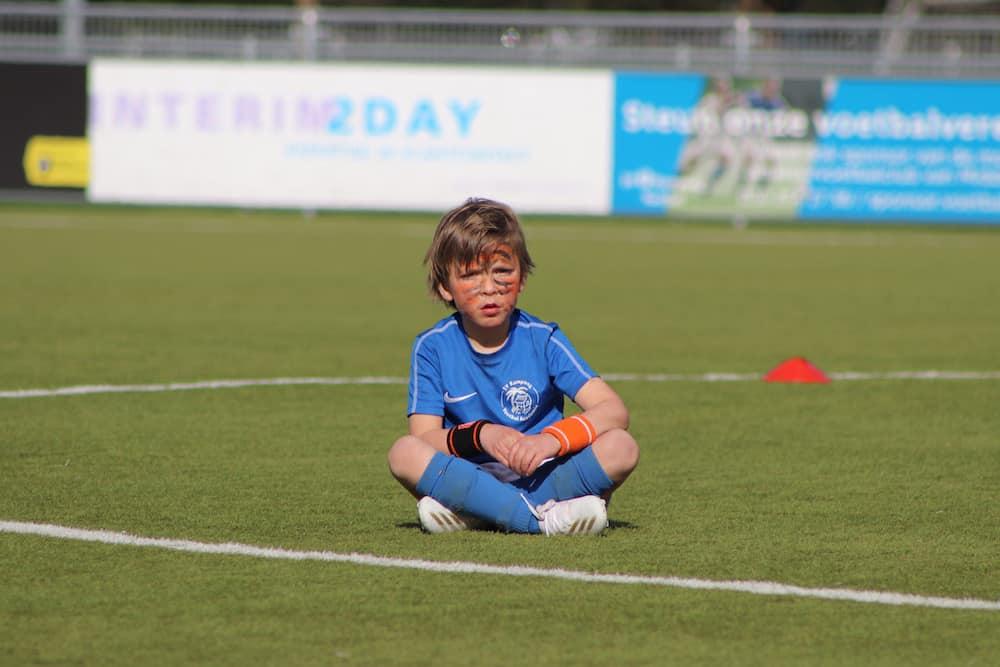 SV Kampong FC Jungle Voetbalkamp in Utrecht in de herfstvakantie 2021