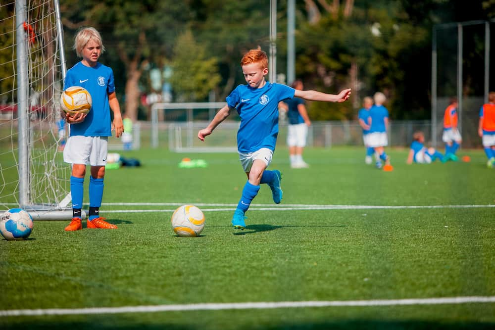 SV Kampong Voetbalkamp in Utrecht in de herfstvakantie van 2021