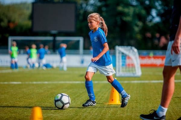 SV Kampong Voetbalschool in Utrecht in het najaar van 2021
