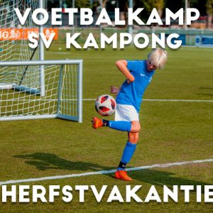 SV Kampong Voetbalkamp in de herfstvakantie 2021