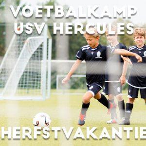 USV Hercules Voetbalkamp in Utrecht in de herfstvakantie 2021