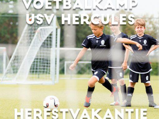 USV Hercules Voetbalkamp in de herfstvakantie