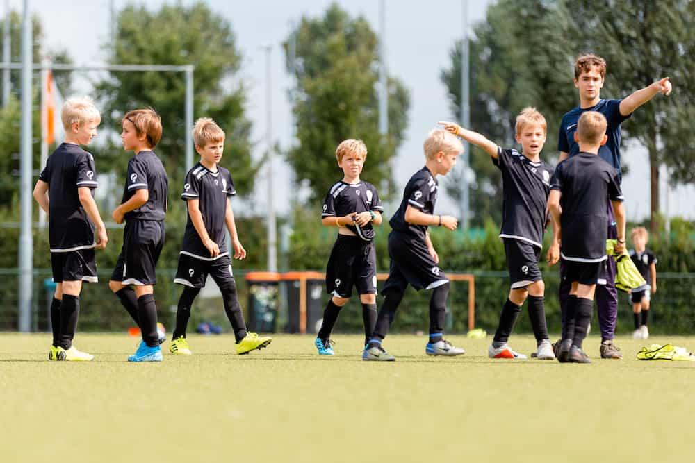 USV Hercules Voetbalkamp in Utrecht in de herfstvakantie van 2021
