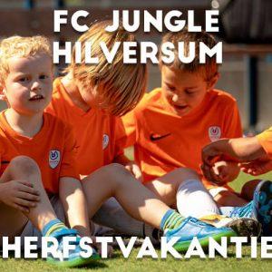 Ubuntu FC Jungle Voetbalkamp in Hilversum in de herfstvakantie 2021