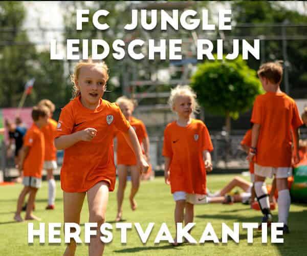 Ubuntu FC Jungle Voetbalkamp in Leidsche Rijn in de herfstvakantie 2021 (2 dagen)