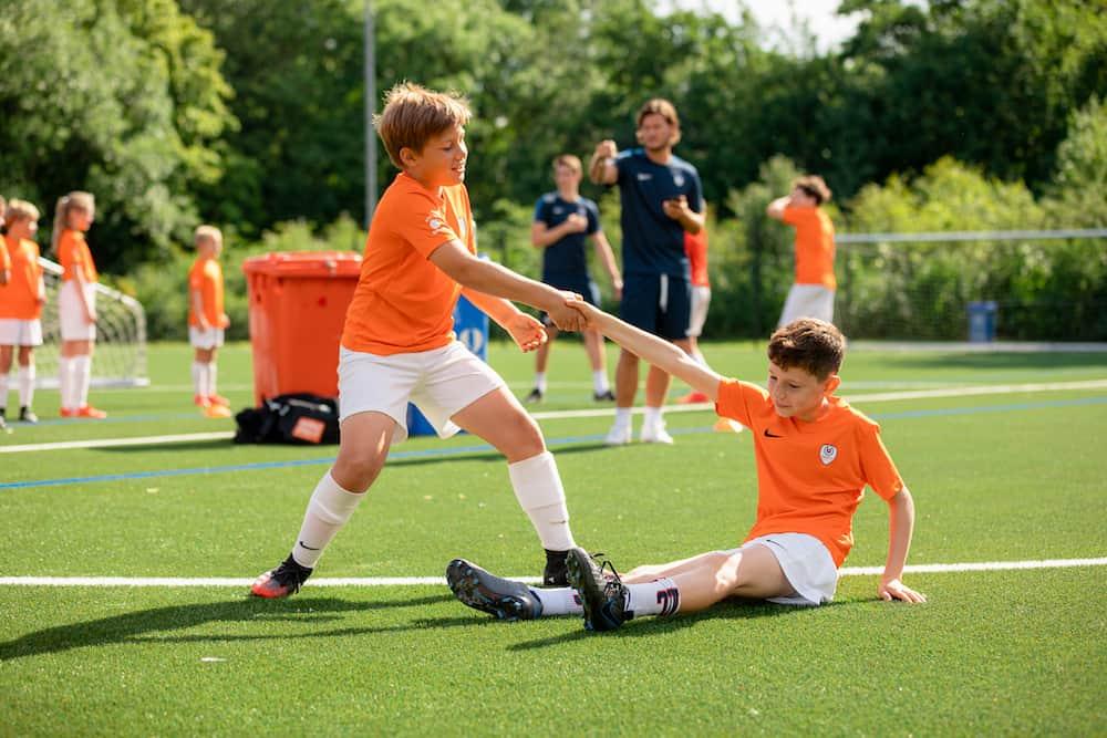Ubuntu Voetbalkamp in Amsterdam in de zomervakantie van 2022 3 dagen