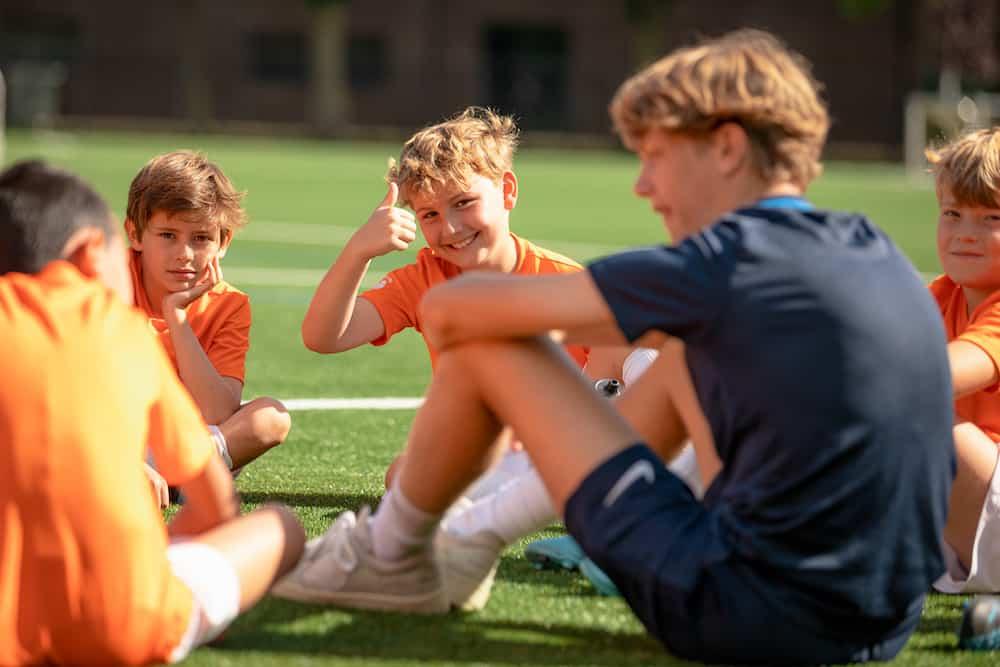 Ubuntu Voetbalkamp in Amsterdam in de zomervakantie van 2022 5 dagen